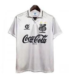 Retro Santos Home Soccer Jerseys Mens Football Shirts Uniforms 1993