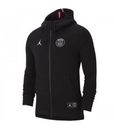 Jordan Paris Saint Germain Black Hoodie Jacket 2018/2019