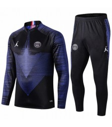 Jordan Paris Saint Germain Noir Version Survêtement Survêtement 2019-2020