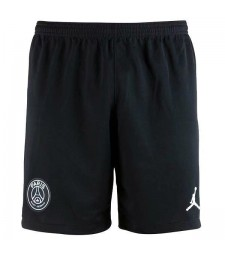 Paris Saint Germain Jordan Fourth ShortsPSG Pantalon de football de football pour hommes Noir 2019-2020