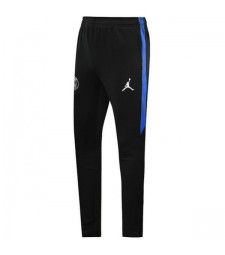 Jordan Paris Saint Germain Survêtement Pantalon Football PSG Hommes Football Training Pantalon Noir Bleu 2019-2020