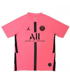 Maillot d'entraînement de football Jordan Paris Saint Germain pour homme rose 2020-2021