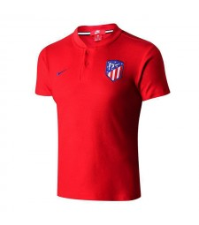 Atletico De Madrid Red Polo Shirt 2018/2019