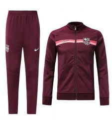 Barcelona Dark Red Tracksuit Jacket Pant 2018/2019
