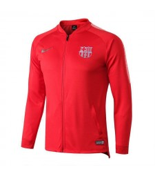 Barcelona Red V neck Jacket 2018/2019