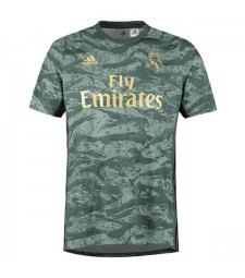 Maillot de football pour maillot de gardien de but du Real Madrid maillé 2019-2020