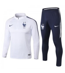 France White Two Star Tracksuit 2018/2019