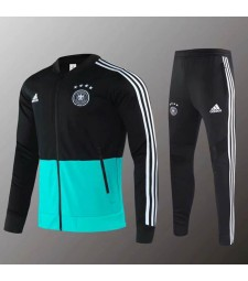 Germany National Team Black Green Jacket Kit 2019-2020