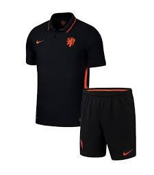 Pays-Bas Away Euro 2020 Football Jersey Kids Soccer Kit