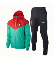 Portugal Green Windrunner+Pant 2018/2019