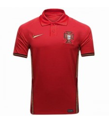 Portugal Home Soccer Jersey Euro 2020 Maillot de foot pour Homme