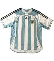 Argentine Retro Home Soccer Jerseys Maillots de football pour hommes Uniformes 2006
