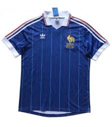 France Maillots de football à domicile rétro Maillots de football pour hommes 1982
