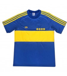 Boca Juniors Retro Home Soccer Jerseys Maillots de football pour hommes Uniformes 1981