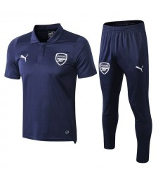 Arsenal Men Polo+Pant Kit Royal Blue 2018/2019