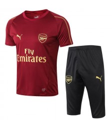 Arsenal Men Short Training Suit Kit Red 2018/2019