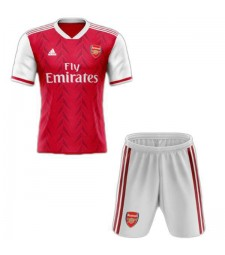 Arsenal Home Soccer Jersey Kids Kit Red 2020-2021