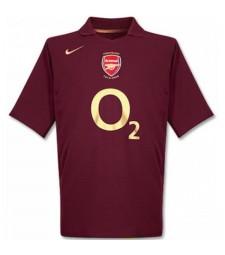 Arsenal Home Maillot Rétro Hommes Premier Soccer Sportswear Maillot de foot 2005-2006