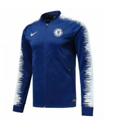 Chelsea Blue Printed Sleeve Jacket 2018/2019