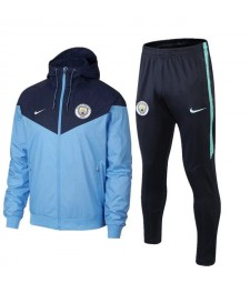 Manchester City Light Blue Windrunner+Pant 2018/2019