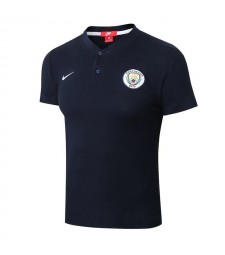 Manchester City Royal Blue Polo Shirt 2018/2019