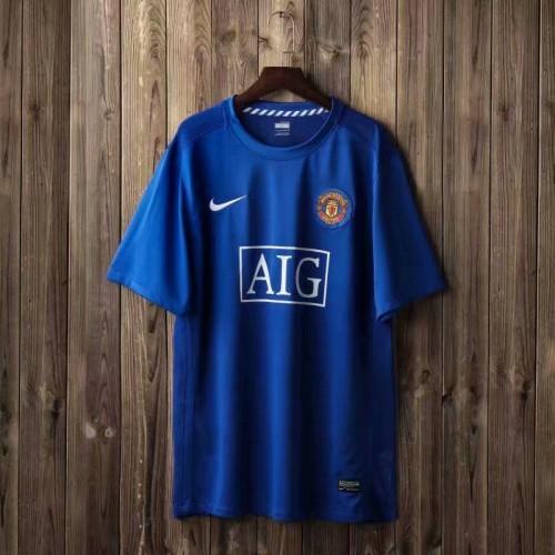 Manchester United Away Retro Mens Soccer Jersey Football Shirt ...