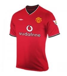 Maillot de football Manchester United Domicile Jersey rétro 2000-2001