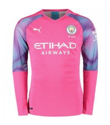 Maillot manches longues Manchester City Gardien Rose 2019-2020