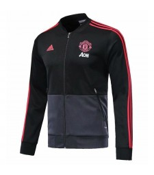 Manchester United Black Soccer Jacket 2018/2019