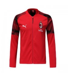 AC Milan Red V Neck Jacket 2018/2019