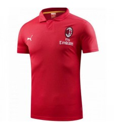 Polo AC Milan rouge 2018-2019