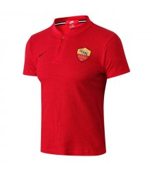 AS Roma Red Polo Shirt 2018/2019