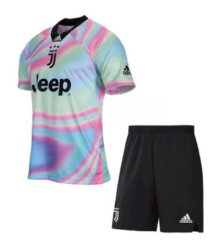 Juventus Kids EA Sports Ltd Edition Jersey Kit 2019