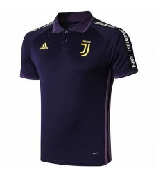 juventus polo maillot violet 2019-2020