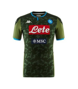 Maillot de foot SSC Napoli Away Soccer Jersey pour Homme 2019-2020