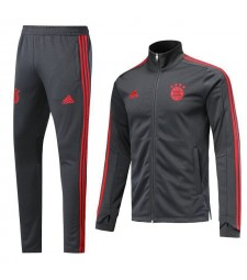 Bayern Munich Gray High Necked Tracksuit 2018/2019