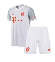 Bayern Munich Away Soccer Jersey Kids Kit Football Youth Uniforms 2020-2021