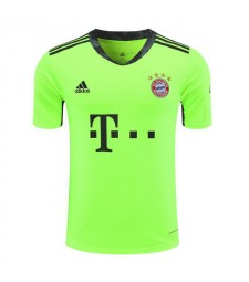 Bayern Munich Green Goalkeeper Soccer Jersey Mens Football Shirt 2020-2021