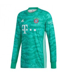 Bayern Munich Green Goalkeeper Long Sleeves Soccer Jersey 2019-2020