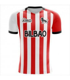 Athletic Bilbao Home Soccer Jerseys Mens Football Shirts Uniforms 2020-2021