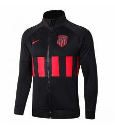 Atletico De Madrid Black Jacket Football Outdoor Soccer Coat 2019-2020