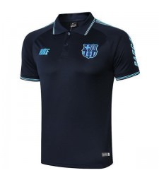 Barcelona Mens Polo Black 2019-2020