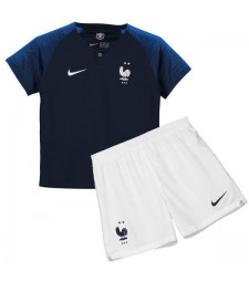 2018 World Cup France Home Kids Kit