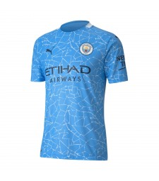 Manchester City Home Soccer Jersey Mens Football Shirt 2020-2021